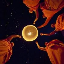 Loy Krathong, el festival de la luz en Tailandia